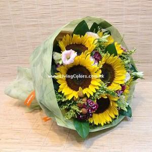Sun Flowers Bouquet
