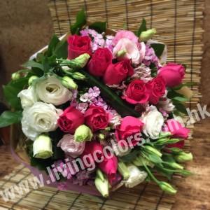 Hot Pink Rose Bouquet