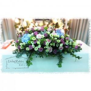 Casket Cover Flower Arrangement